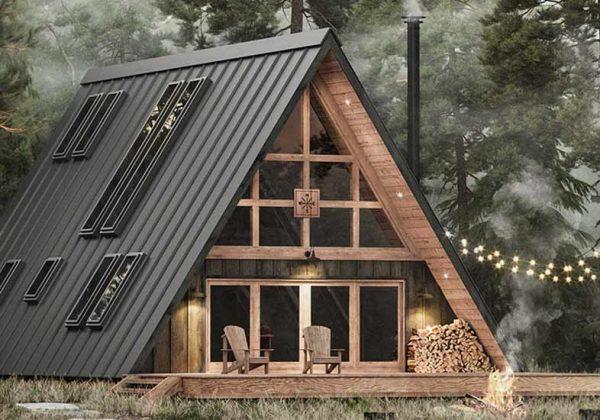 Plans D Architectes A 1730 Pour Construire Une Maison Triangulaire Soi Meme