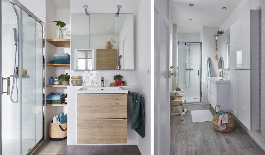 Aménager une salle de bains confortable même dans une petite ...