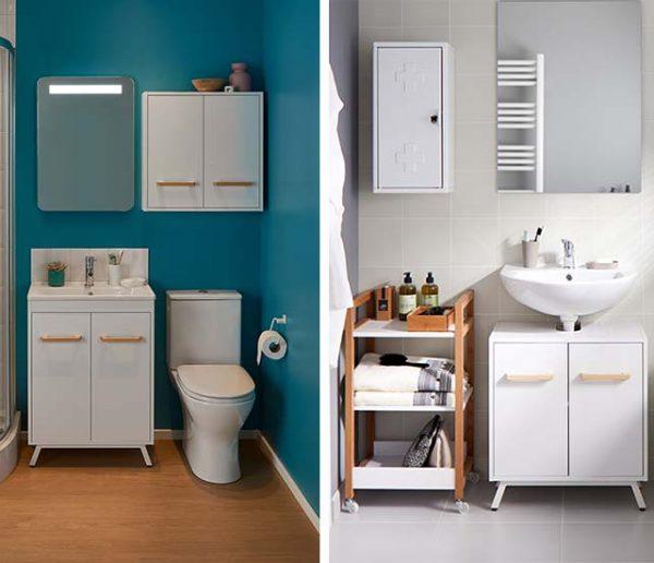 Aménager une salle de bains quand on est locataire, un jeu d'enfant !