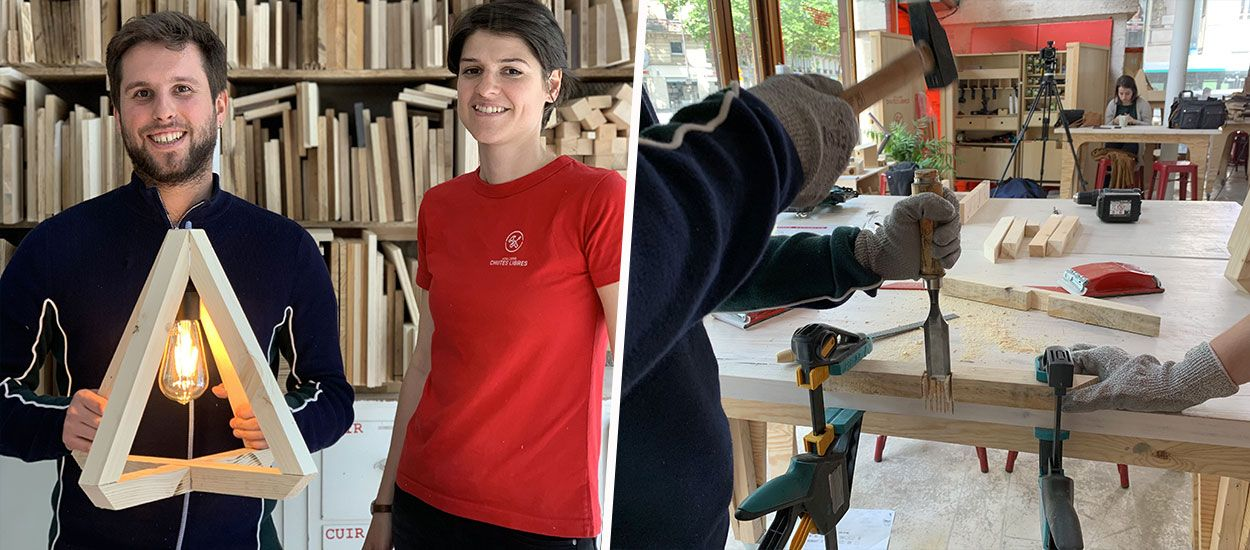 Tuto : Fabriquez cette lampe en bois récupéré en moins de deux heures !