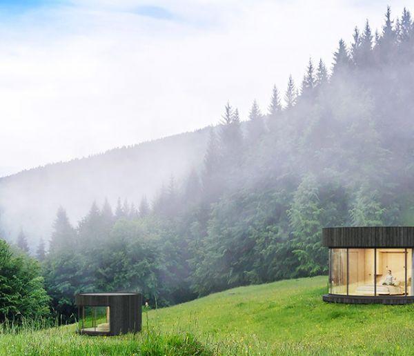 Une magnifique cabane made in France pour passer la nuit en pleine nature