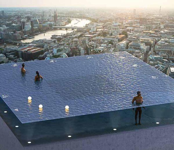 Vous pourrez bientôt vous baigner au sommet d'un gratte-ciel à Londres