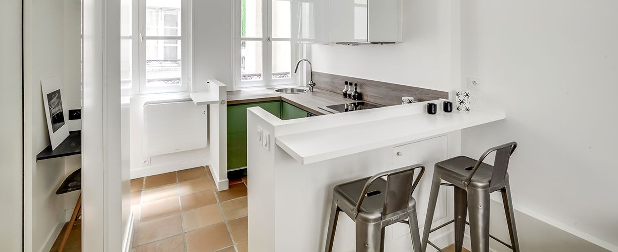 Astuces pour cr er un coin repas et cuisine dans un petite espace - Coin repas pour petite cuisine ...