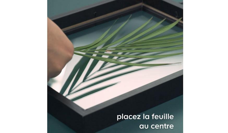 Tuto cadre herbier suspendu etape 8