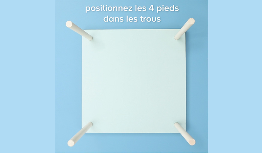 Tutoriel table basse sans clou ni vis ni colle étape 13