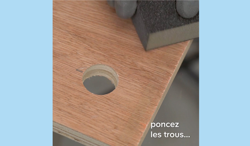 Tutoriel table basse sans clou ni vis ni colle étape 3