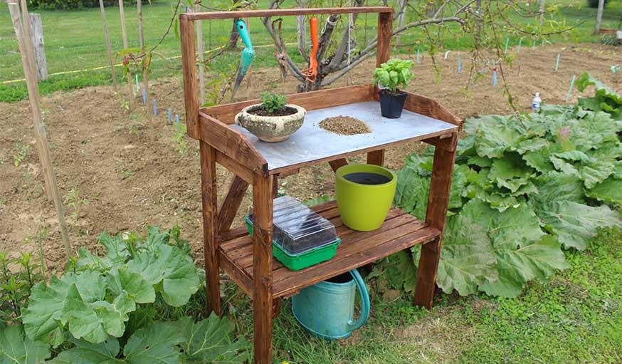 Tutoriel : Comment fabriquer une table de rempotage de ...