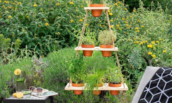 Tuto : Fabriquez une suspension végétale pour faire pousser des herbes aromatiques
