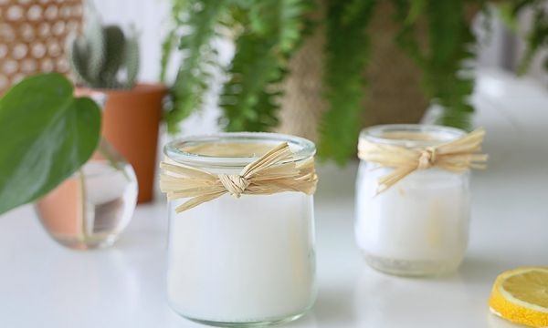 Tuto : fabriquez des bougies récup' à la citronnelle