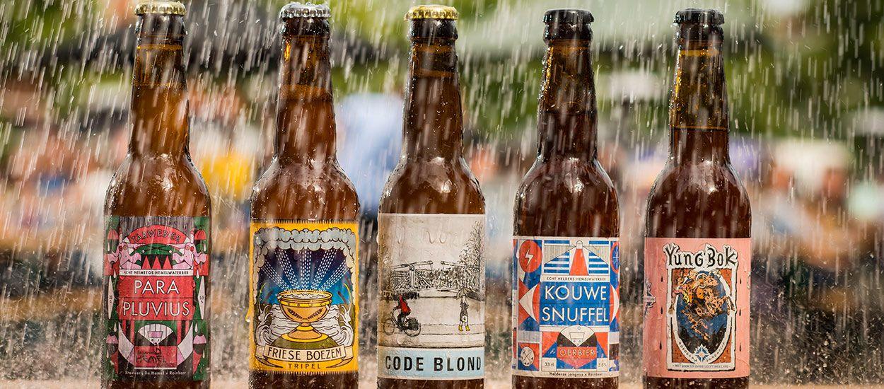 Ils récupèrent l'eau de pluie des toitures pour en faire de la bière !