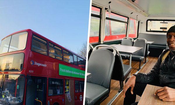 Au Royaume-Uni, ce programme rénove des bus pour héberger des personnes sans-abri