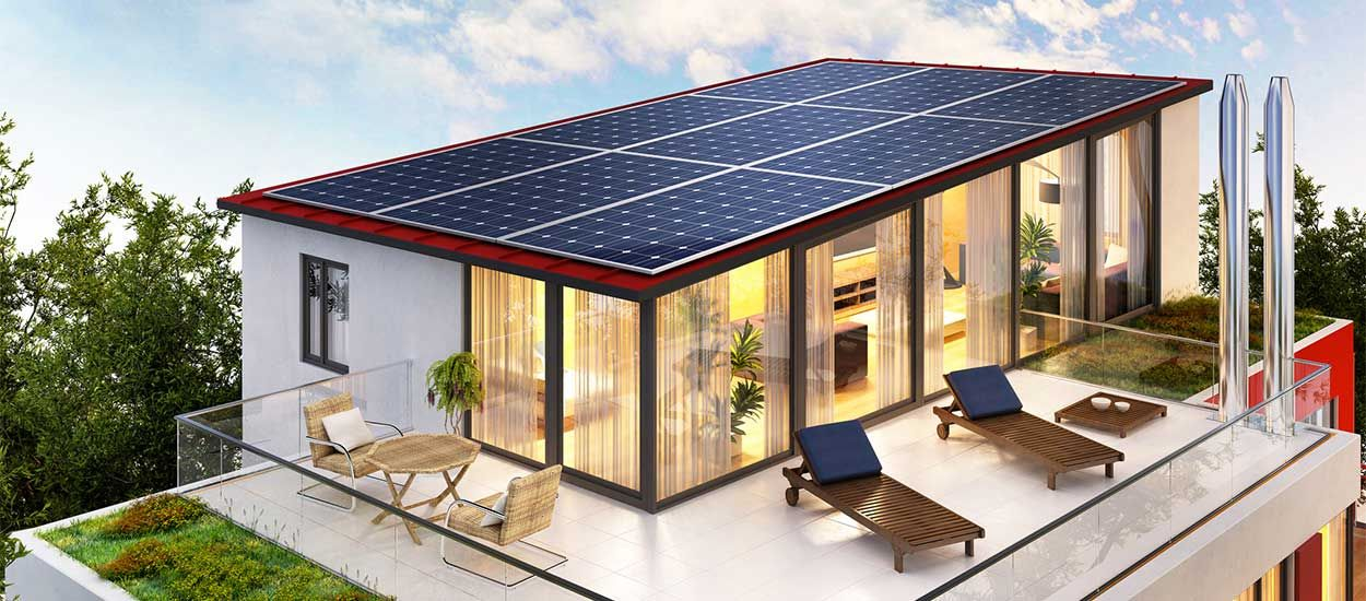 Avec les panneaux solaires intelligents, votre lave-linge se met en route quand il y a du soleil