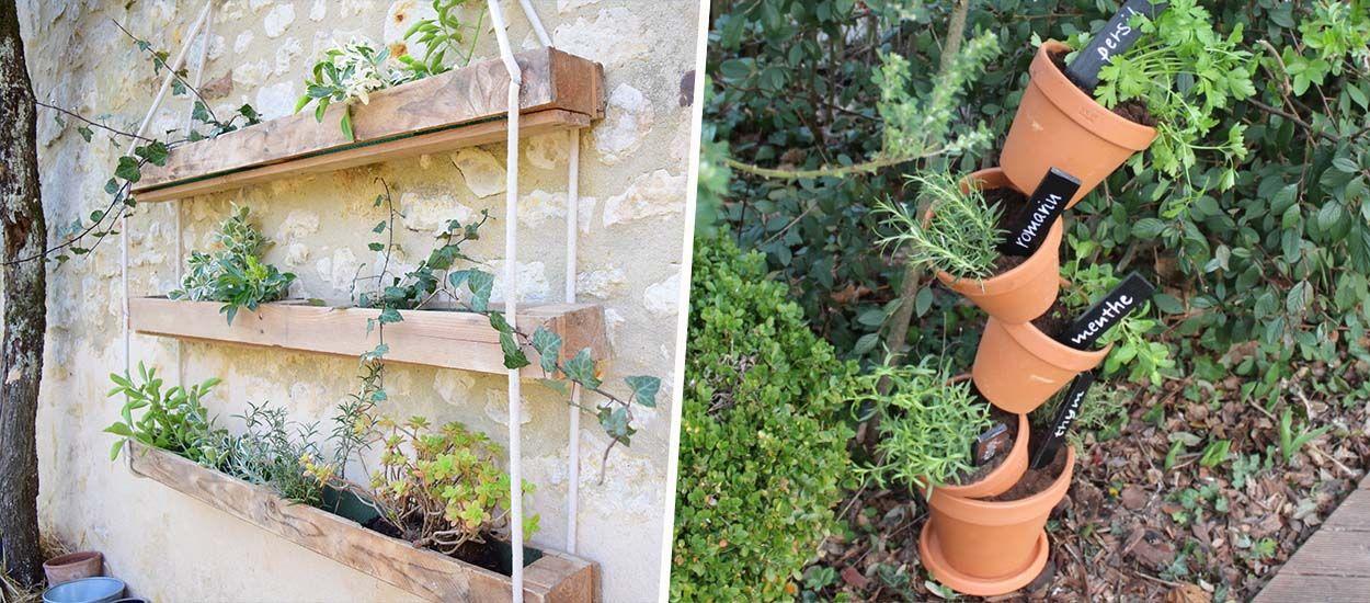 Best-of : 7 idées pour fabriquer une jardinière récup'
