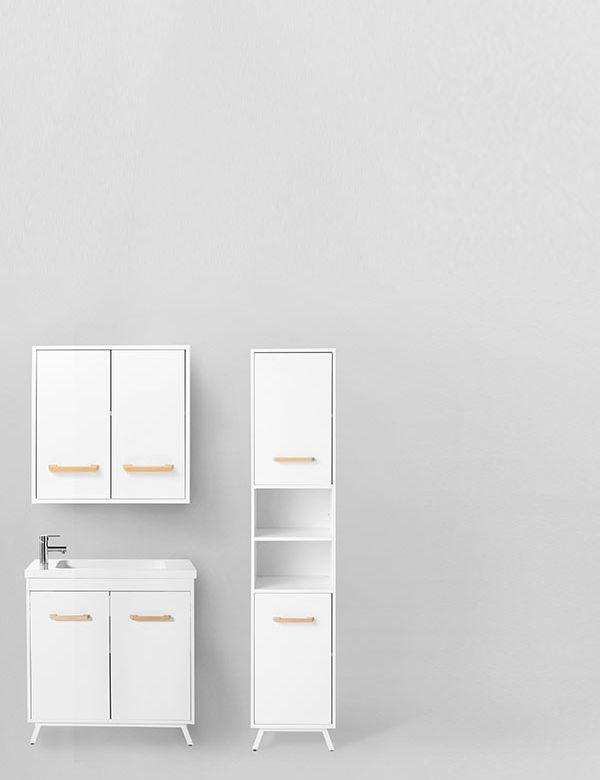 <b>LADOGA,</b> le mobilier  faible profondeur, idéal pour  un petit espace
