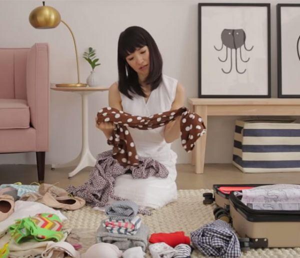 Gagnez un temps précieux en faisant votre valise selon la méthode de Marie Kondo