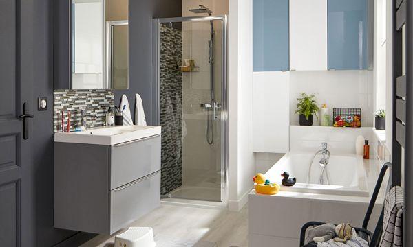 Aménager une salle de bains familiale