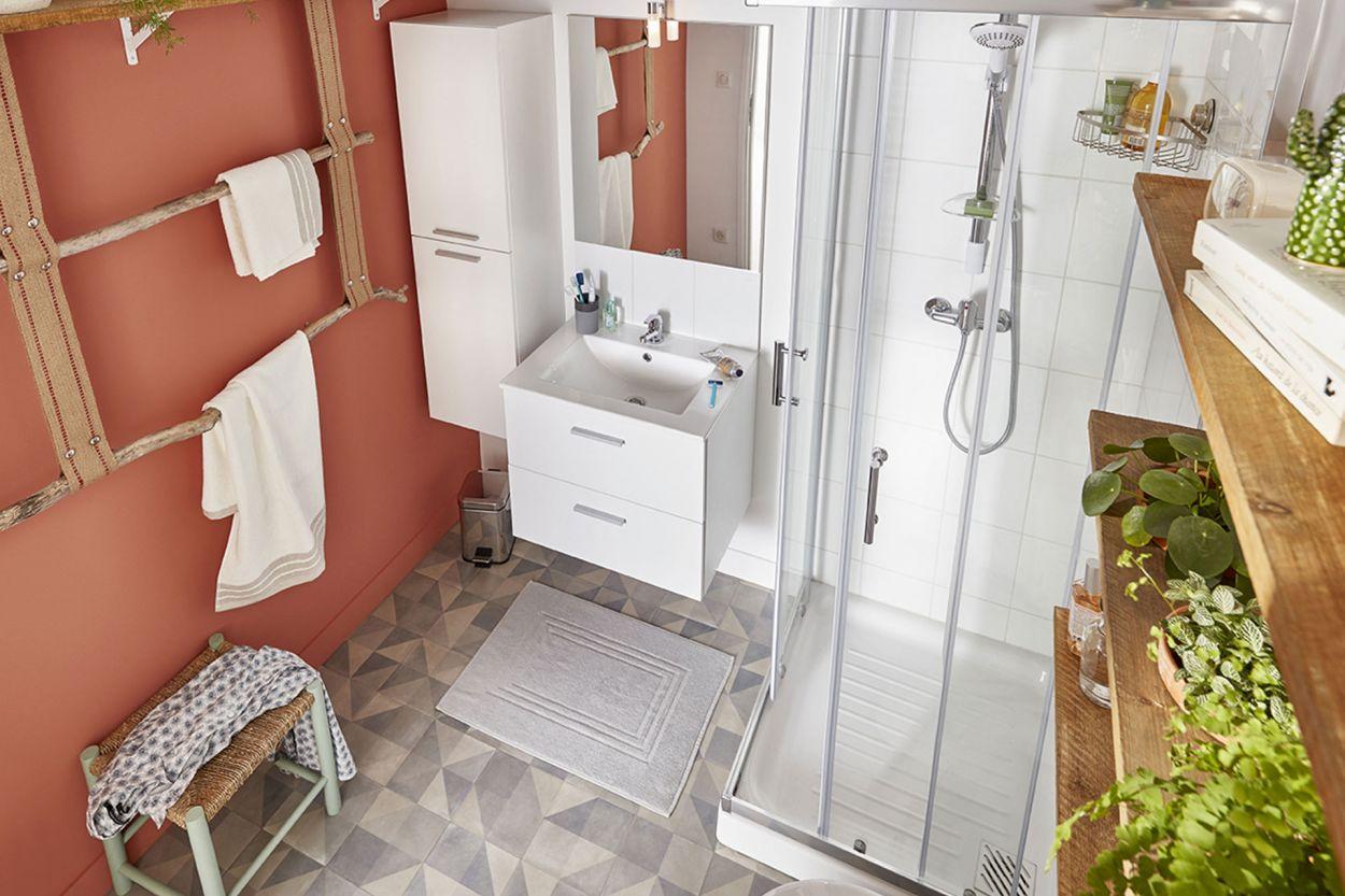 Relooking salle de  bains à petits prix !