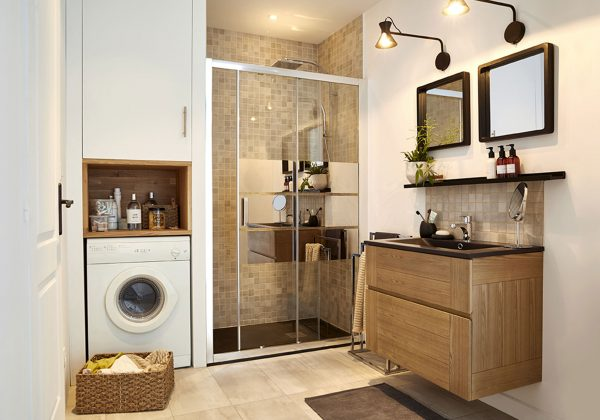 Avant après - Rénovation d\'une petite salle de bain en ...
