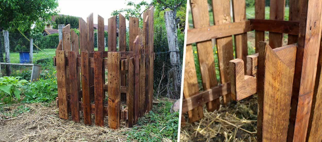 Tuto : Fabriquez un petit bac à compost en bois de palette pour votre jardin