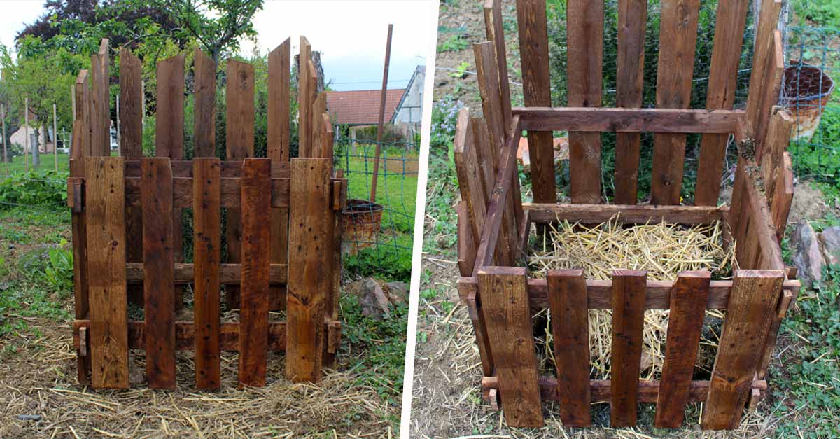 tutoriel comment fabriquer un composteur en bois de. Black Bedroom Furniture Sets. Home Design Ideas