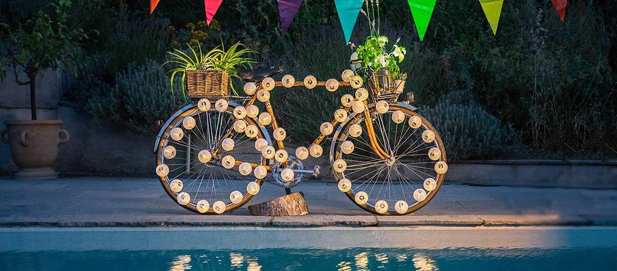 Tuto : Donnez une nouvelle vie à votre vieux vélo, transformez-le en jardinière insolite !