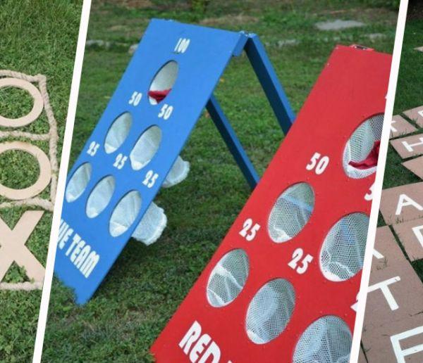 10 jeux d'été pour tous les âges à fabriquer vous-même