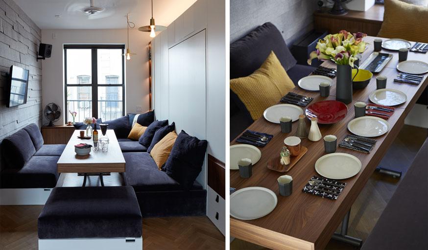 appartement de Graham Hill Life Edited2 table à manger