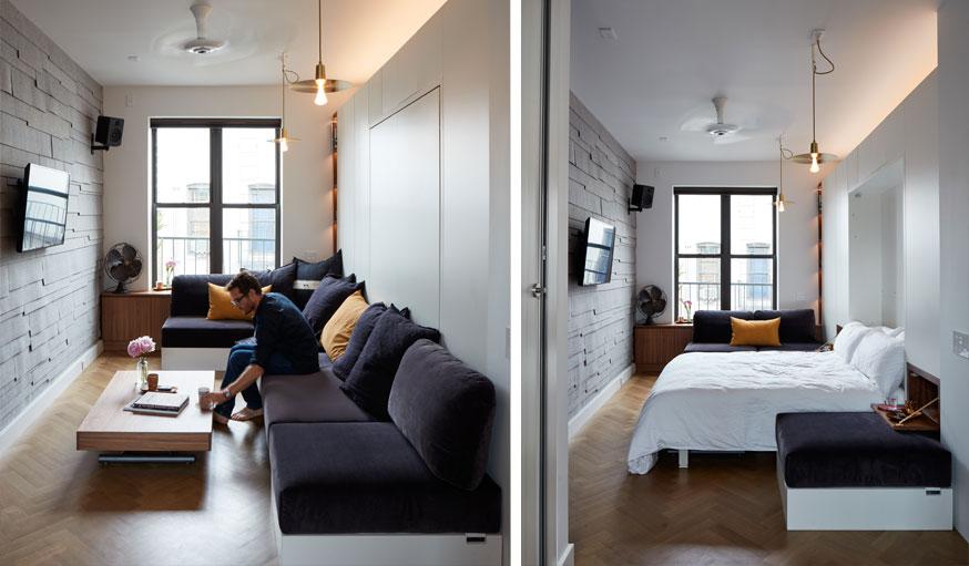 appartement de Graham Hill Life Edited2 chambre salon