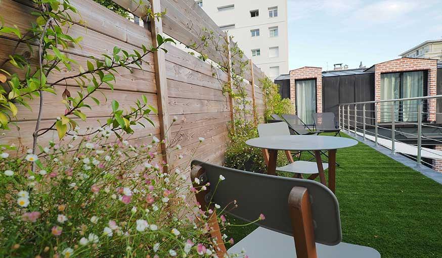 Jardin de soleil végétalisé Maxime Arnoux