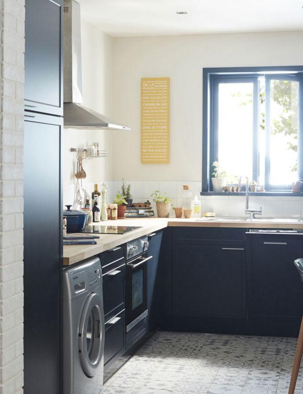 Une cuisine couloir bien pensée