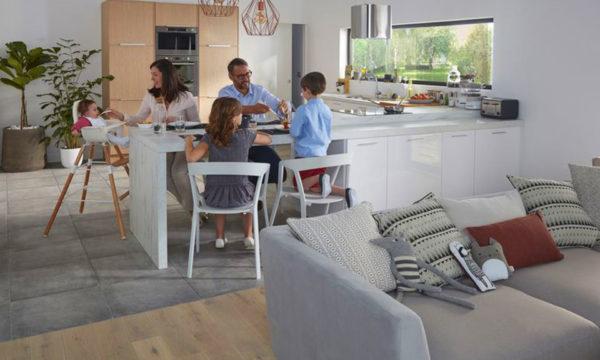 Une cuisine familiale  & conviviale