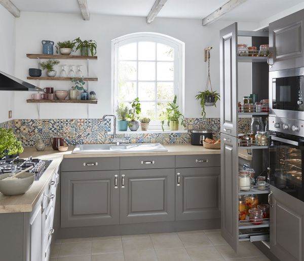 Une cuisine pleine de charme