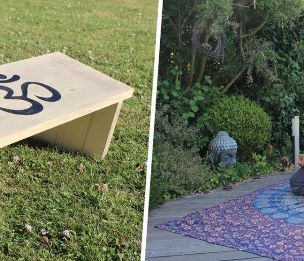 Tuto : Fabriquez un banc de méditation pour seulement 10 euros