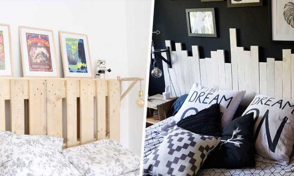 10 idées pour fabriquer votre tête de lit en palette