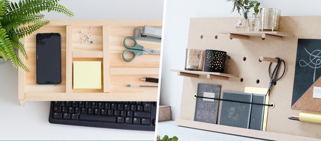 14 tutoriels pour organiser votre bureau et bien attaquer la rentrée