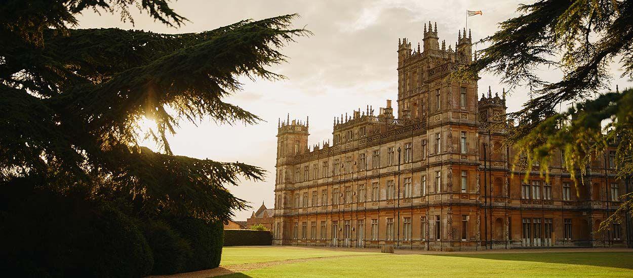 Le château emblématique de la série Downton Abbey est à louer le temps d'une nuit