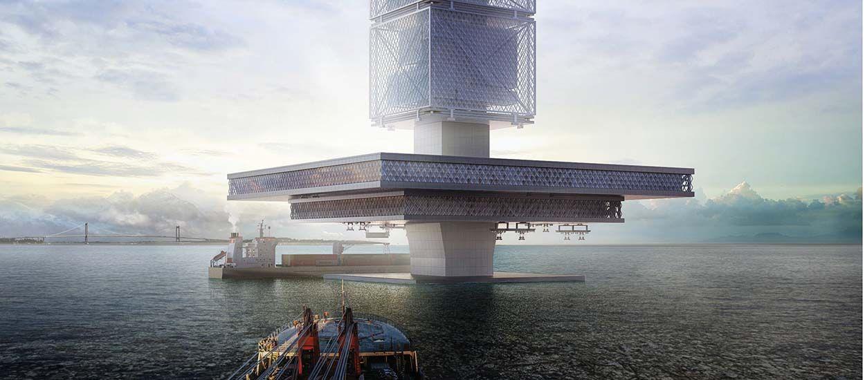 Grattes-ciels dépolluants : une conception futuriste pourrait sauver les océans du plastique