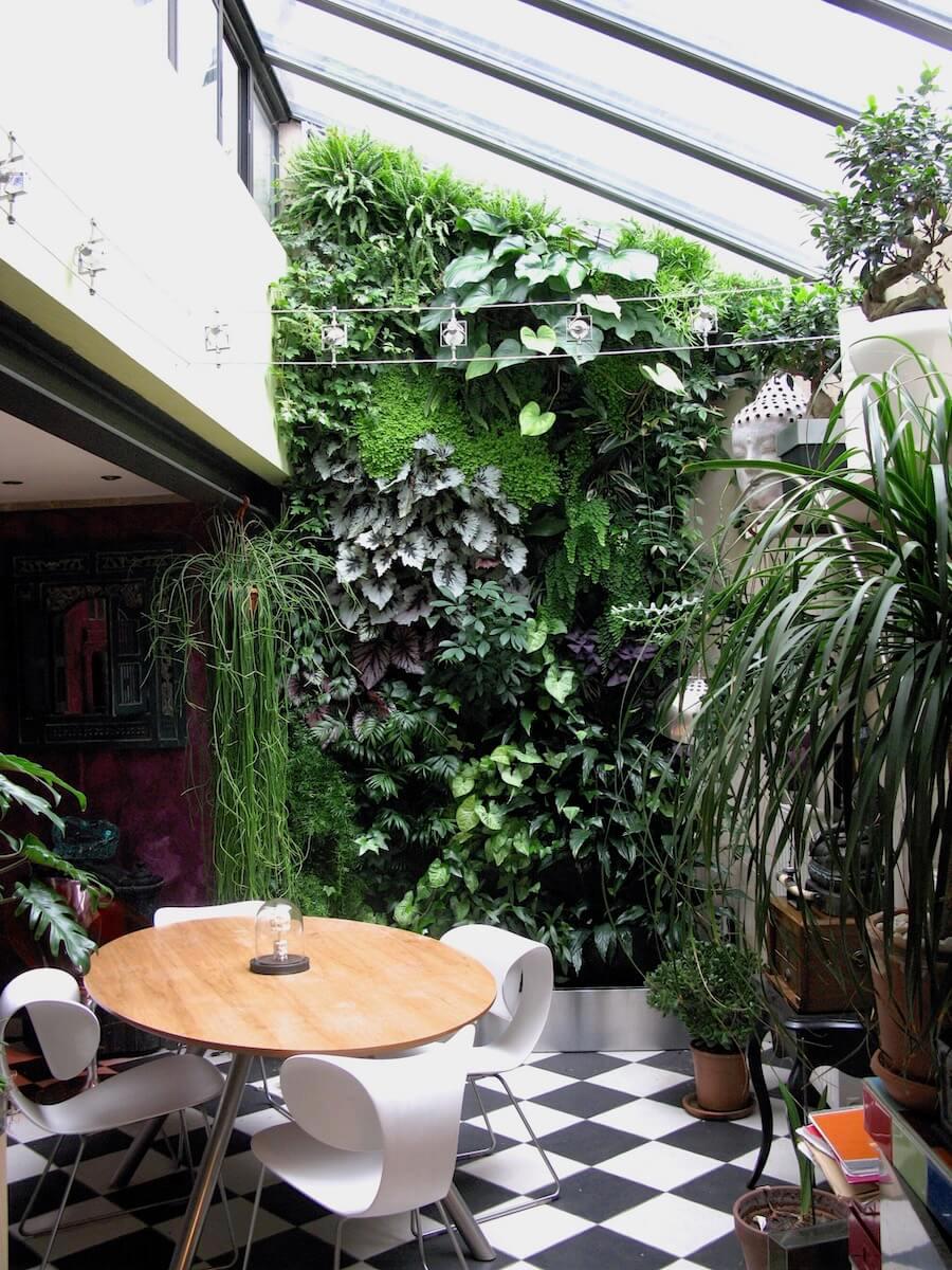 Plante Sur Les Murs mur végétal plastique, naturel ou stabilisé ? prix