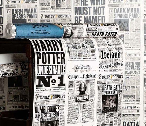Avis aux fans ! Découvrez ces papiers peints inspirés de l'univers d'Harry Potter