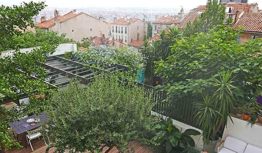 Avant après jardin Marseille
