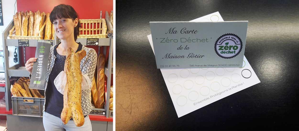 Une boulangerie normande créée une carte de fidélité zéro déchet pour réduire les emballages