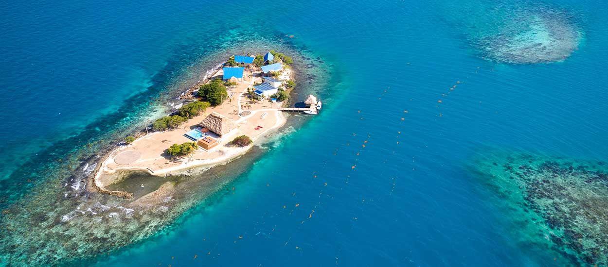 Pour 180 euros par nuit, vous pouvez réserver cette île (si 19 de vos amis viennent avec vous) !