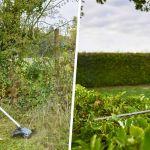 outils pour le jardin sans fil Erbauer Castorama