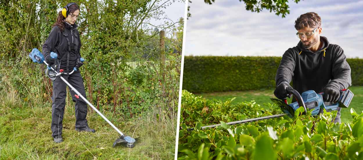 Pratique : les batteries universelles pour les outils du jardin et de la maison