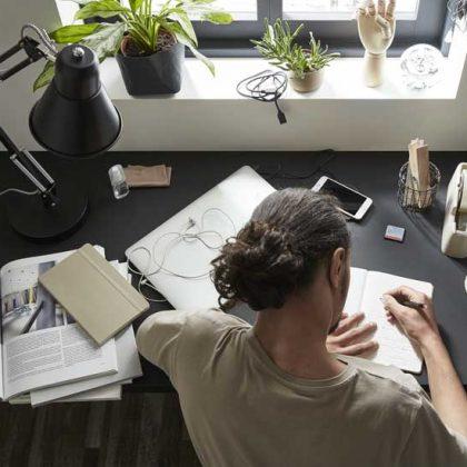 Télétravail : Nos astuces pour un bureau plus lumineux