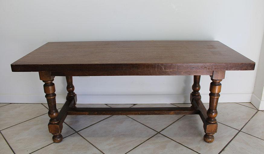 tuto transformer une table basse en table de jeu étape 1