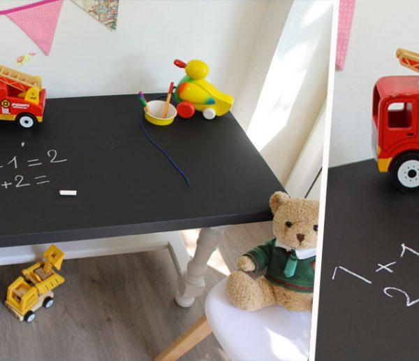 Tuto : Transformez une table basse en table de jeu pour enfant