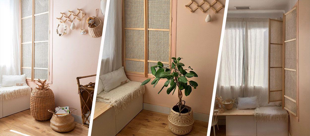 Tuto : Fabriquez de belles portes de dressing en cannage