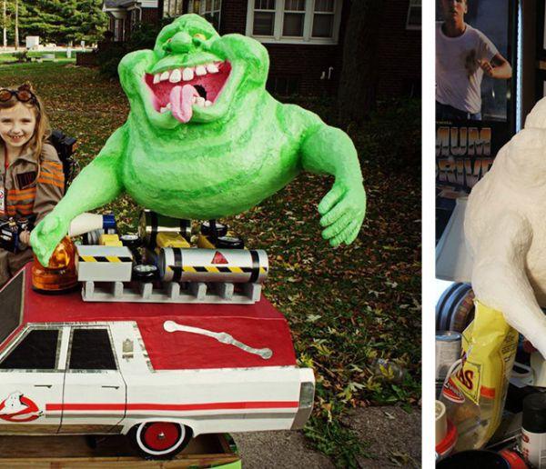 Halloween : son père lui fabrique le déguisement de Ghostbusters ultime