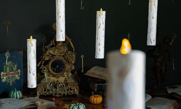 Tuto : Fabriquez des bougies volantes pour transformer votre maison en Poudlard !